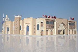 3D global village