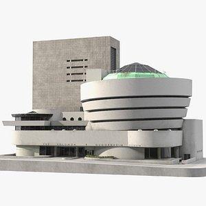 Solomon Guggenheim Museum 3D model