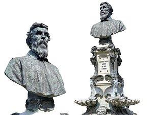 Florence Fountain Sculpture 3D model
