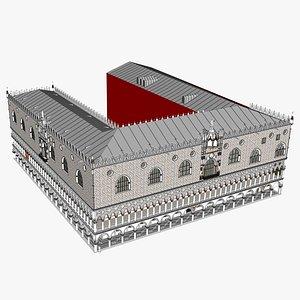 Palazzo Ducale - Venice 3D model