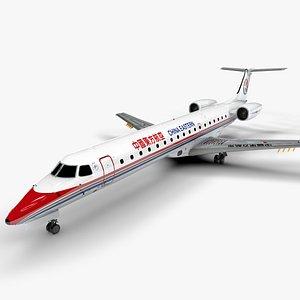 China Eastern Airlines EMBRAER ERJ 145 L1382 3D model