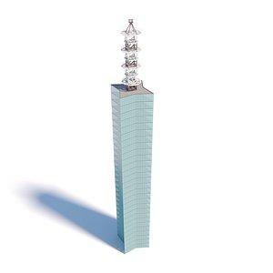Akita Port Tower model