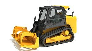 skid steer loader manure model
