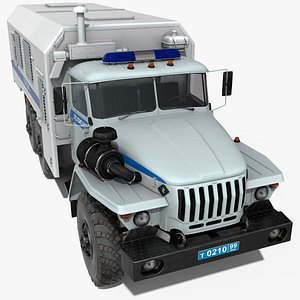 ural 4320 police vehicle model