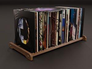Vinyl Storage No-15 3D model
