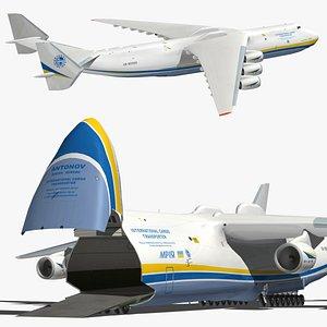 Antonov An225 Mriya 3D model