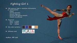 3D Fighting Girl 1