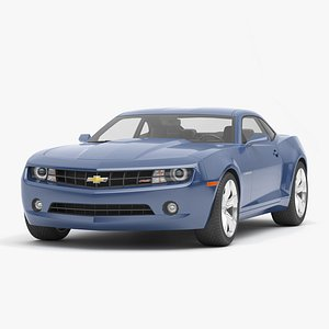3D Chevrolet Camaro Car model