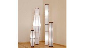 Floor lamps 3D