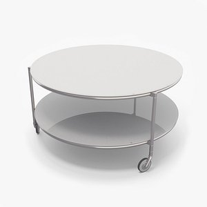 ikea glass coffee table 3D