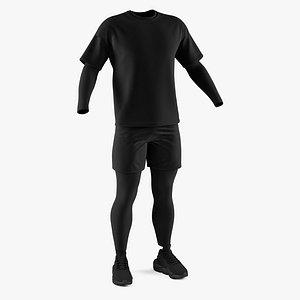 sneakers apparel footwear 3D model