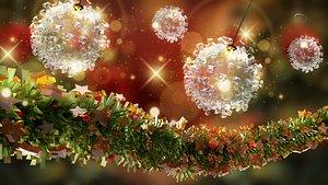 - christmas ball hook 3D