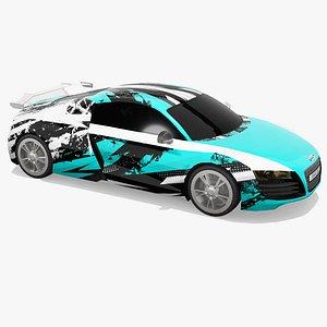 Audi R8 3D