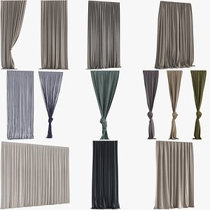 Collection of Curtains model