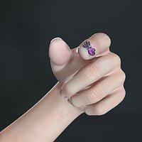 Beatutiful Female Detailed Realistic Hand Arm Finger Nail