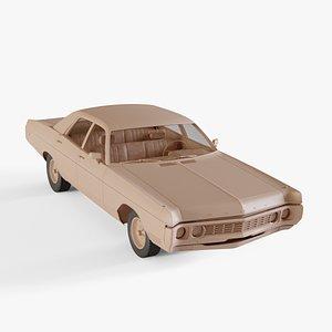 1970 Dodge Polara 3D model