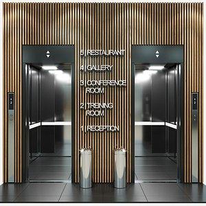 3D passenger elevator
