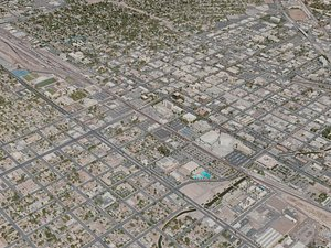 3D bakersfield city
