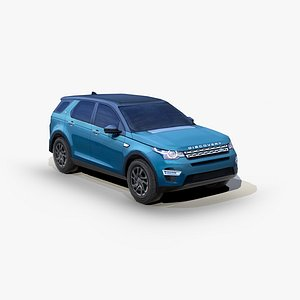 land rover discovery sport 3D model