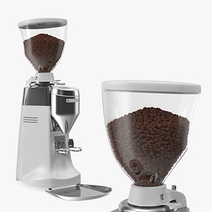 3D Automatic Grinder with Coffee Beans