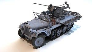 Sd.Kfz.104 Flak30 3D