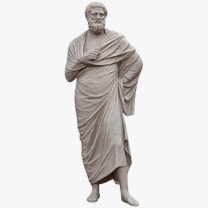 3D Sophocles Statue model