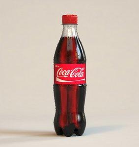 Coca-Cola bottle 500ml model