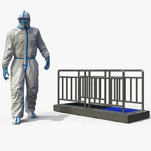 disposable protective suit sole model