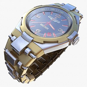 3D watch vip modeled
