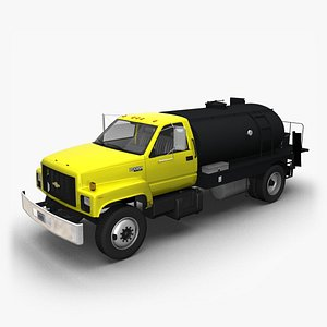 3D 1990 Chevy Kodiak Distributor model