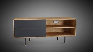 Fina Sideboard 150 by Gazzda 3D model