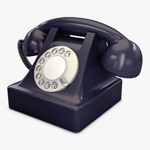 retro telephone phone model