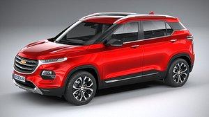 3D Chevrolet Groove 2021