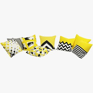 3D Geometric Pillows V1 model