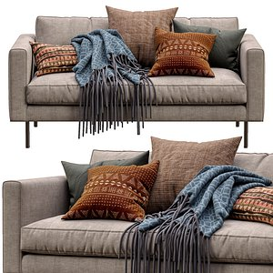 3D boutique sofa moooi