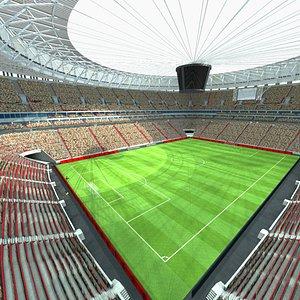 3D National Stadium of Brazil Mane Garrincha Brasilia