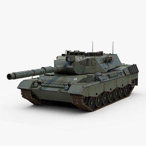 3D Leopard 1 Tank model
