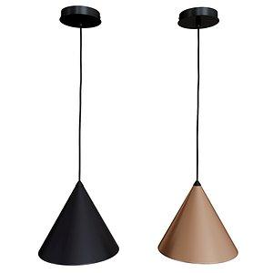 ceiling moke cone light 3D