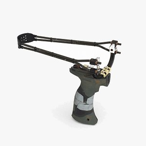 3D A modern weapon  the slingshot