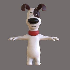 3D model Dog Toon
