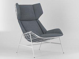 chair varaschin 3D