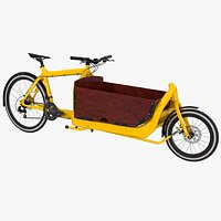 Cargo Bike with Box