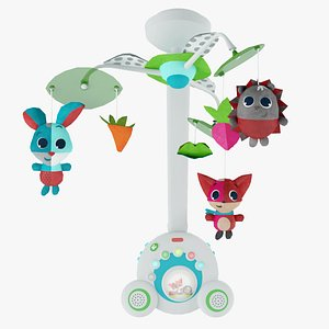 kids toy mobile tiny 3D