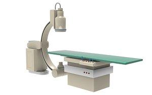 C-Arm Machine 3D model