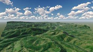 3D mountain valley east gatlinburg