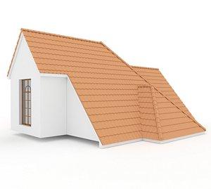 3D Realistic Roof Shingles 2