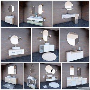 10 bathroom sinks model