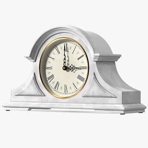 Vintage Mantel Clock 3D model