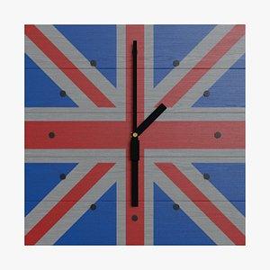 wallclock colored clock uk model
