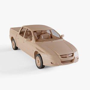 2005 Holden Crewman 3D